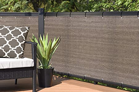 Amazon.com : Alion Home Elegant Privacy Screen for Backyard Fence .