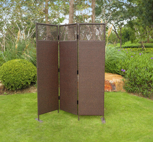 Backyard Creations™ 6' Wicker Privacy Screen at Menards