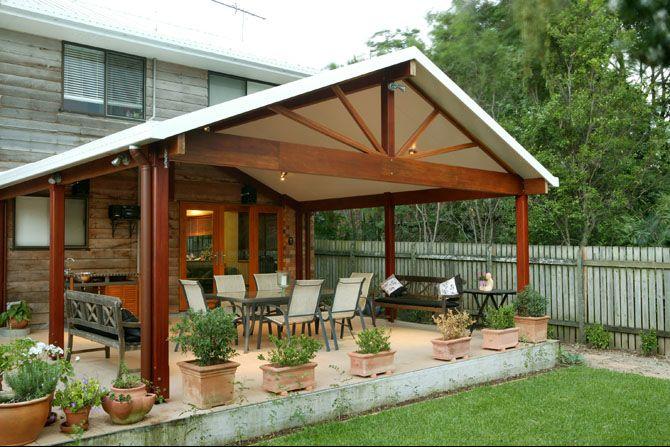 Patio Ideas - SolarSpan® by Bondor® | Covered patio design, Patio .
