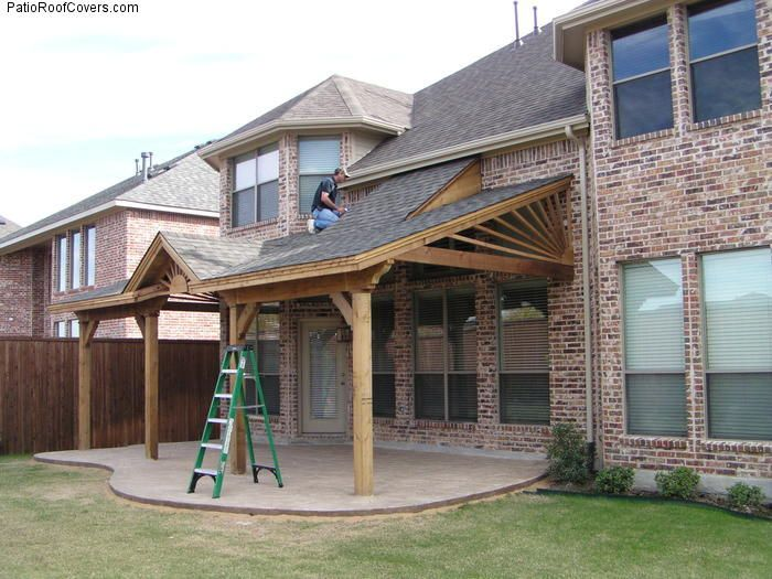 Covered Patio Roof Ideas | PatioRoofCovers.com | Roof design .