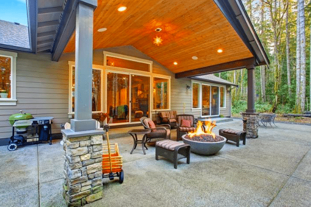 4 Patio Roof Designing Ideas - Verbal Gold Bl