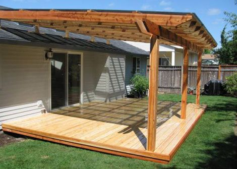 9 Nice Solid Patio Cover Pictures and Ideas | Diy patio cover .