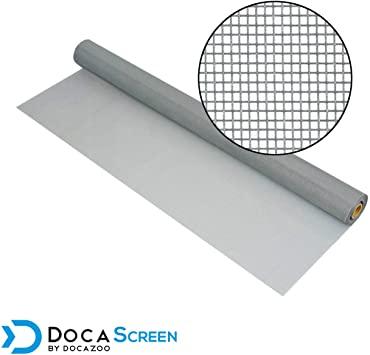"""DocaScreen Standard Window Screen Roll – 72"""" x 100' Fiberglass ."""