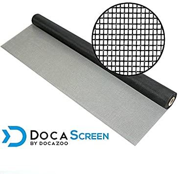 """DocaScreen Standard Window Screen Roll – 96"""" x 100' Fiberglass ."""