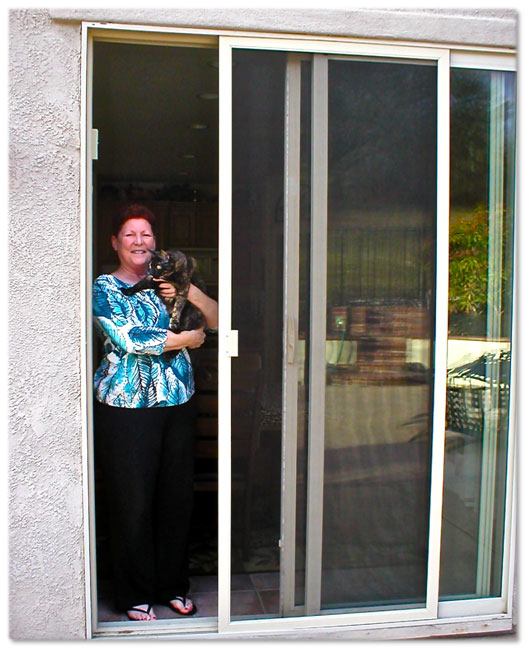 Sliding Patio Screen Doors - Sacramento CA - A to Z Window Scree