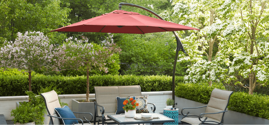 Patio Umbrellas - Patio Furniture - The Home Dep
