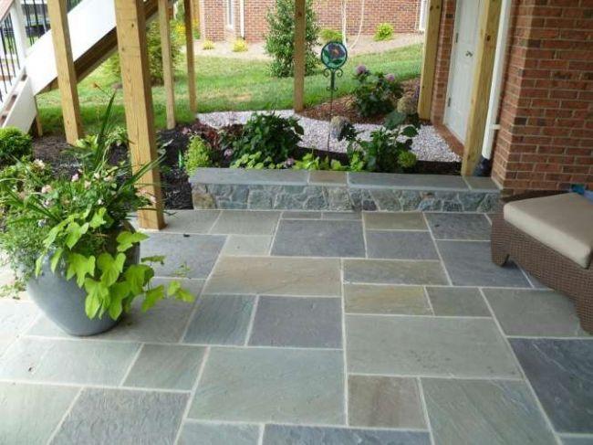 Patios, Walls & Walkways - fischer | Patio tiles, Patio, Terraced .