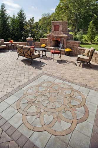 Paver Patio Designs and Ideas | Patio pavers design, Patio stones .