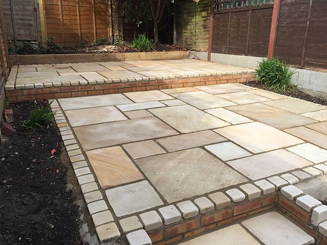 Image result for Indian Sandstone Paving Ideas | Paving ideas .