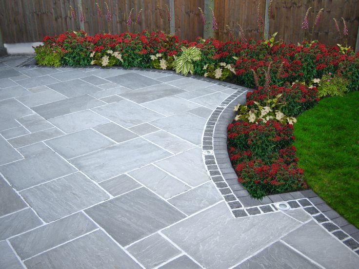 Image result for stone patio | Patio garden, Garden paving, Patio .