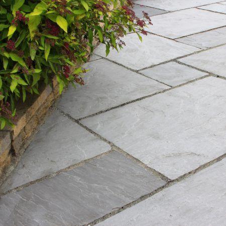 Dove Grey Sandstone | Sandstone paving, Sandstone paving slabs .