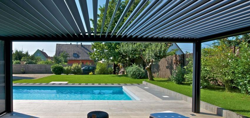 Brustor aluminium pergolas & outdoor structures by Broadvi