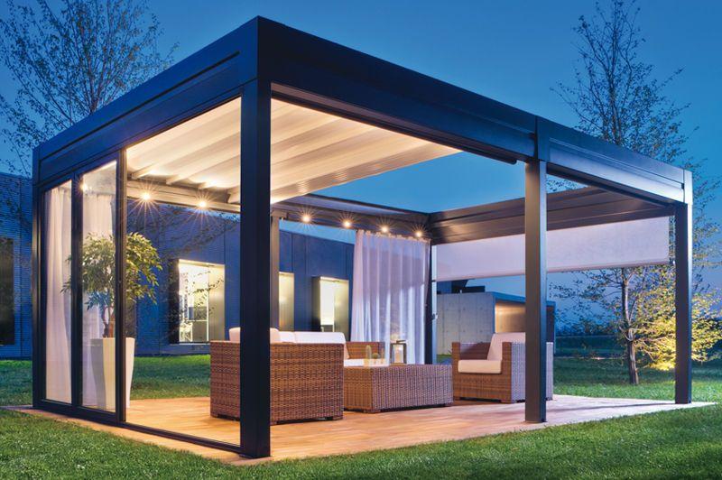 20 Aluminum Pergola Design Ideas | Modern pergola, Aluminum .