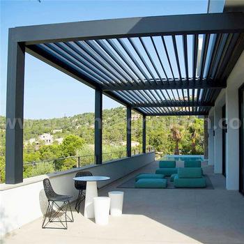 Automatic Sun Rain Protection Pergola Aluminium For Garden - Buy .