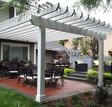 Pergola Designs Fort Collins - Rocky Mountain Fence and Dec