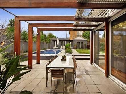 Image result for pergola designs nz timber modern | Modern pergola .