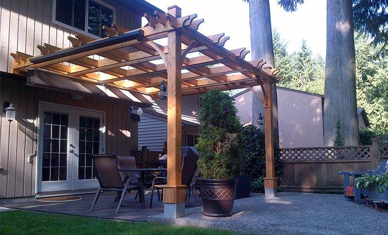 Choosing the Best Pergola Design for Your Gard