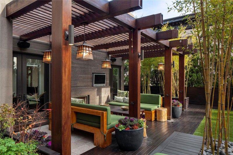 76 Crosby Street, SOHO | Outdoor pergola, Backyard patio, Backyard .