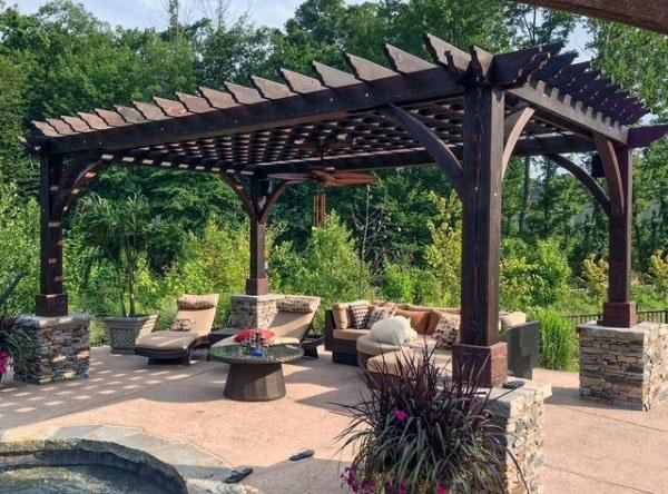 Beautiful pergola designs 50 about remodel home decor arrangement .
