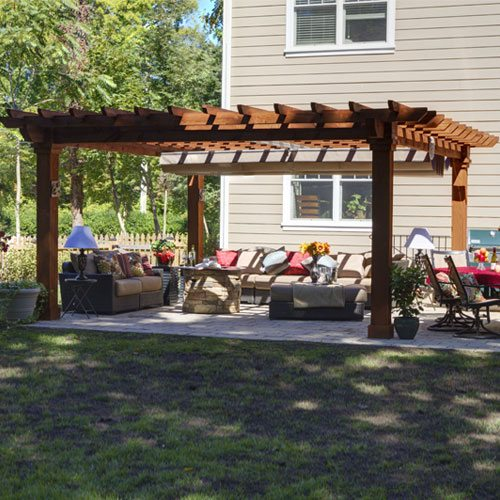 Pergola Shade Canopy | Country Lane Gazeb