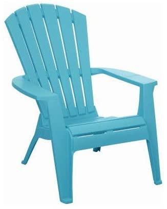 Amazon.com : Adams 8370-05-3700 Adirondack Chair, Turquoise .