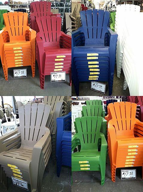 Plastic Adirondack Chairs Target | Plastic adirondack chairs patio .