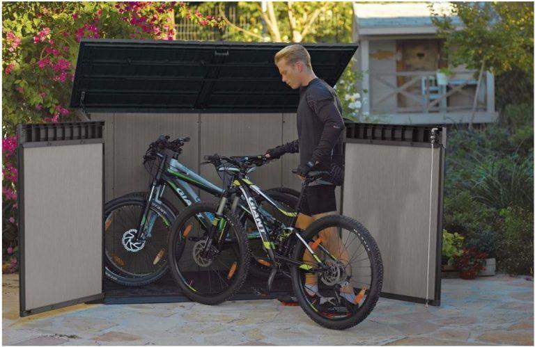 Duotech Grande-Store in 2020 | Plastic bike storage, Triple .