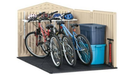 Plastic Bike Shed