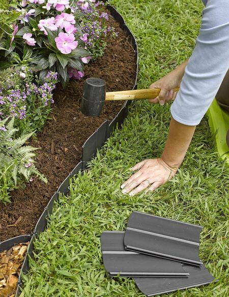 Pound-In Plastic Landscape Edging - Lawn Edging | Free Shippi
