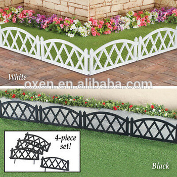 Picket Fence Plastic Garden Border Edging, View Plastic Garden .