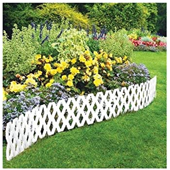 Amazon.com: LATTICE FENCE 4 Pc Outdoor Flexible Weatherproof .