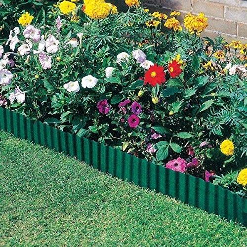 Shindak Plastic Small Lawn Edging, Garden Edging(12cm×6m) | Wi