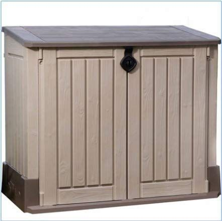 Amazon.com : Plastic Outdoor Storage, Shed - 30-Cu.Ft., Color .