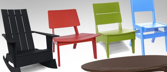 Loll Designs: Modern Recycled Plastic Outdoor Furniture @ US .