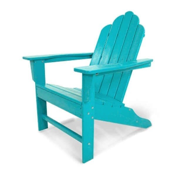 Long Island Adirondack Recycled Plastic Patio Chair from Polywood .