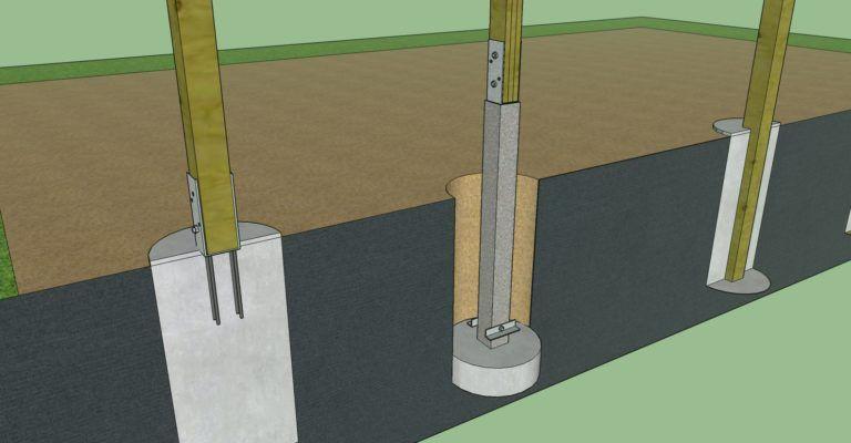 Pole Barn Foundation Options | MilMar Pole Buildings | Building a .