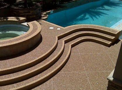Acrylic Pool Deck Resurfaci