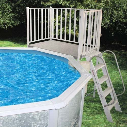 Free-Standing Pool Deck - Walmart.com | Swimming pool decks, Above .