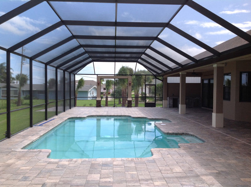 Why Smart Homeowners Use Phifer Solar Screens For Pool Enclosur