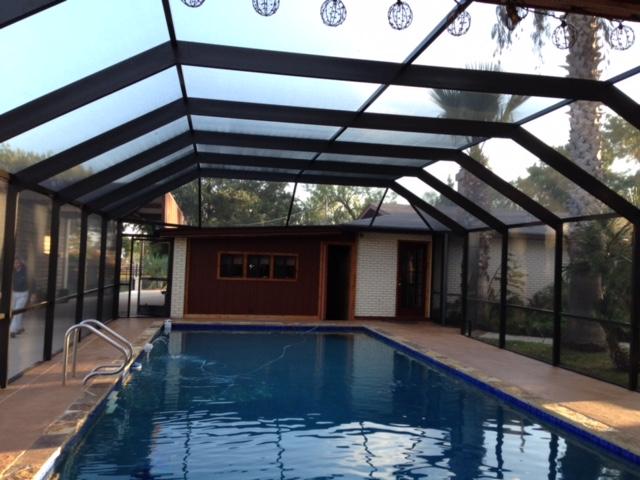 Benefits of Custom Pool Enclosures | Texas Custom Exterio
