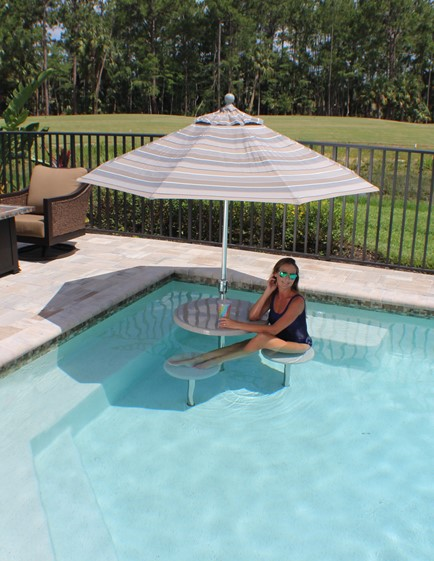 In-Pool Furniture | Tables & Seating | S.R. Smi