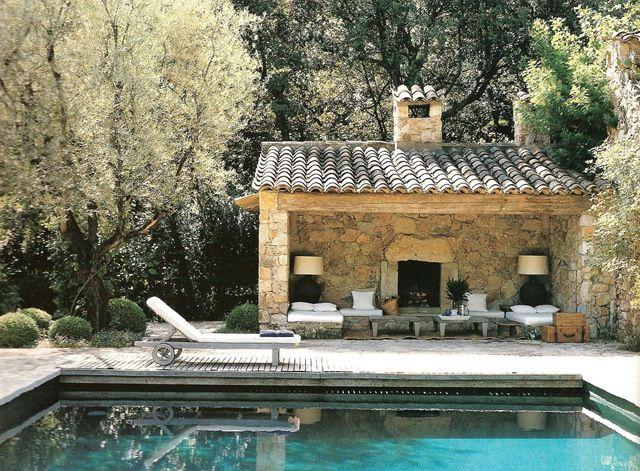 Provencal Escapes 10005-a[3].jpg (image) | Pool houses, Cool pools .