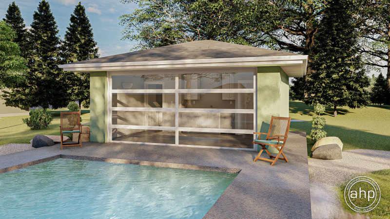 Pool House Plan | Alvara