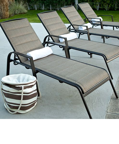 Contendo San Francisco aluminium pool lounge chairs | Maladot .