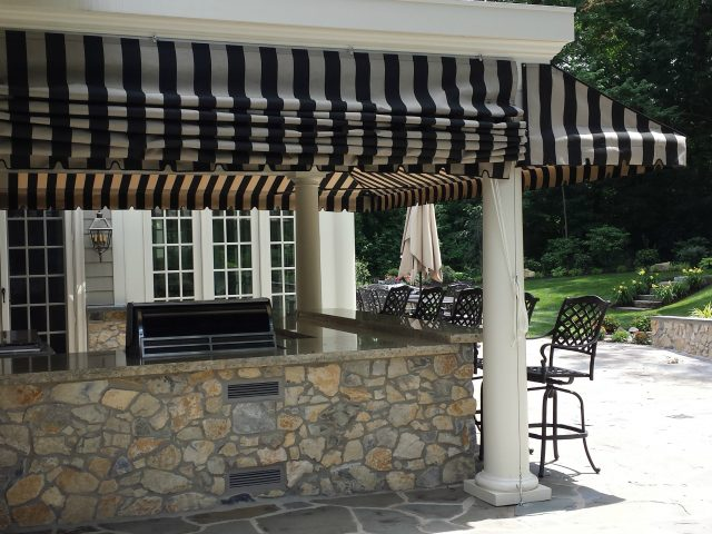 Residential Porch Awnings Gallery | Kreider's Canvas Service, In
