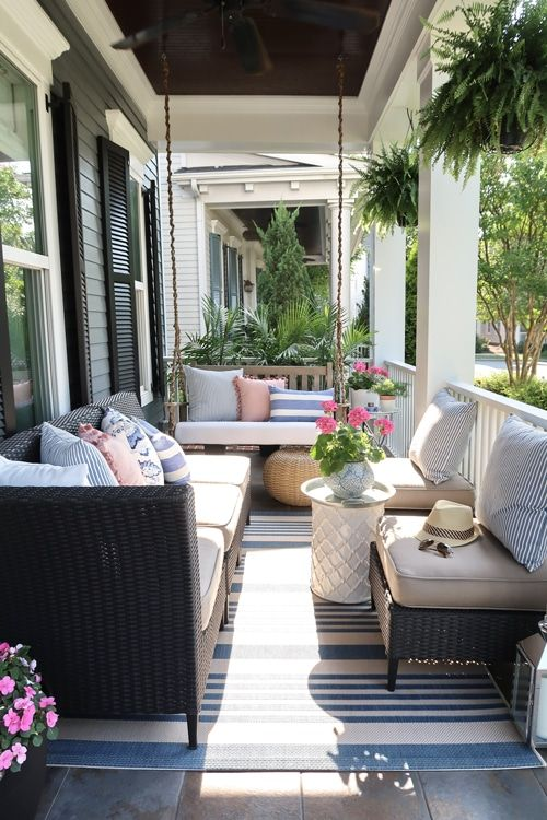 Small Front Porch Decorating: 6 Unique Ideas for Summer .