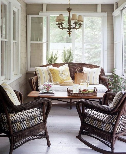 33 Creative Porch Decorating Ideas | Shelterness | Porch furniture .