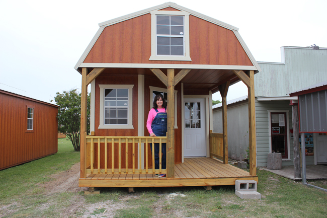Portable buildings offer more than storage space - Liberty Hill .