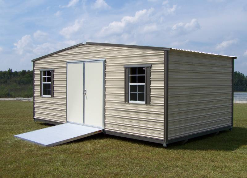 Thrifty Aluminum Buildings BTHS10x12 Standard Style Metal Portable .