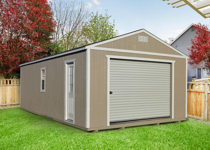 Easy Portable Garage Ideas – CoolYeah Garage organization & Caster .